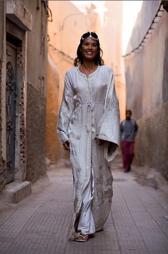 Moroccan Bridal Dress By Farzana Aamir Y