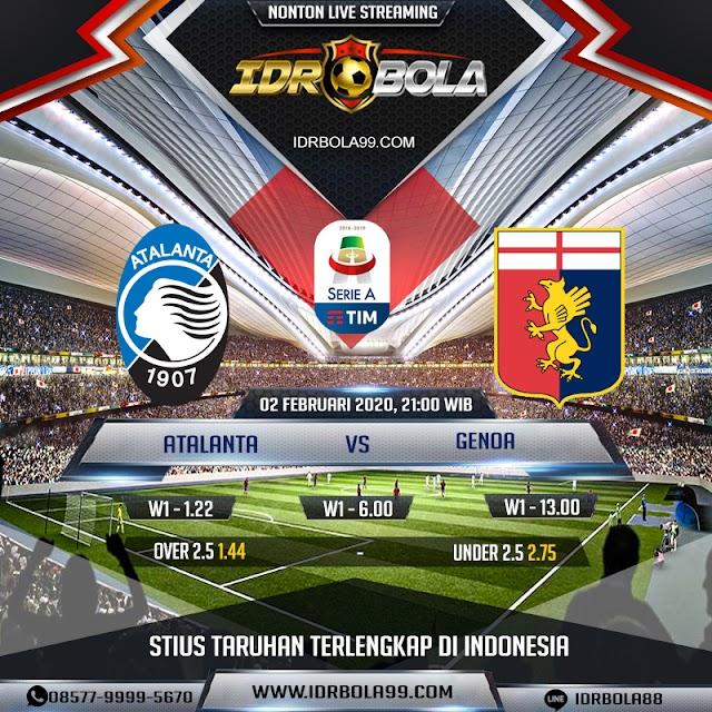 IDRBOLA - Prediksi Bola Atalanta Vs Genoa 02 Februari 2020