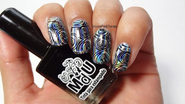 BornPrettyStore | Holographic Roses using the BPX-L014 plate
