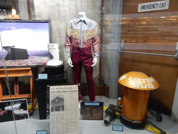 Back to the Future Trilogy movie costume props