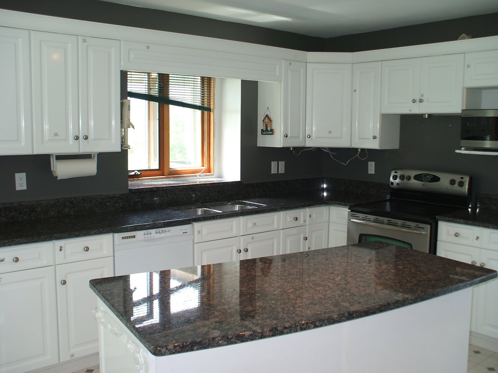 Image of Kitchen with Granite Window Ledge