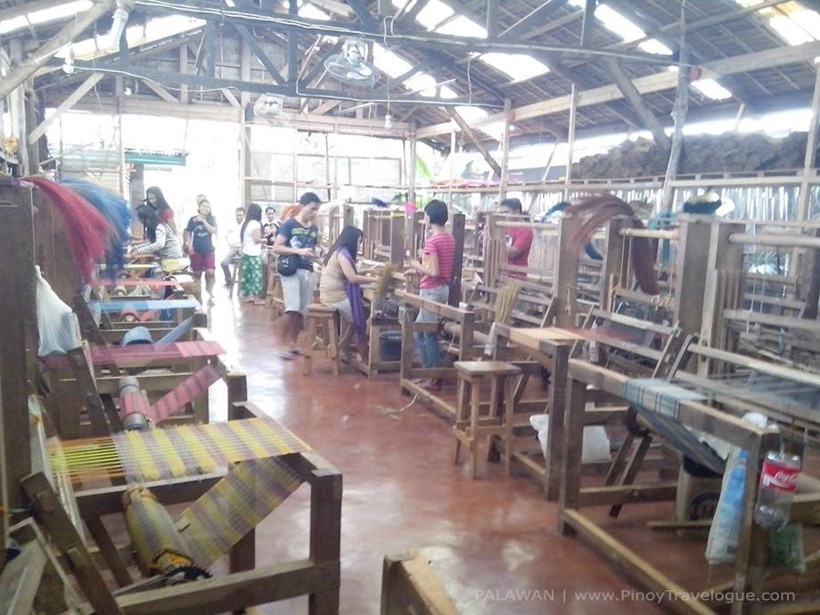 Binuatan Creations weaving area