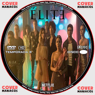 ELITE TEMPORADA 3 2020 [COVER - DVD]
