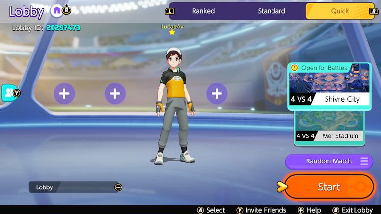 Pokémon Unite - Modos de Jogo