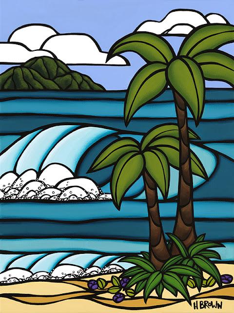 surf art h brown