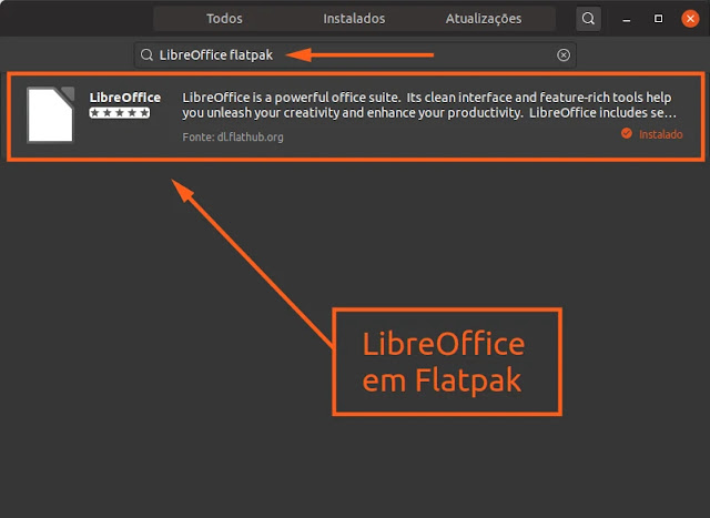 libreoffice-office-planilha-documento-apresentação-slide-flathub-flatpak