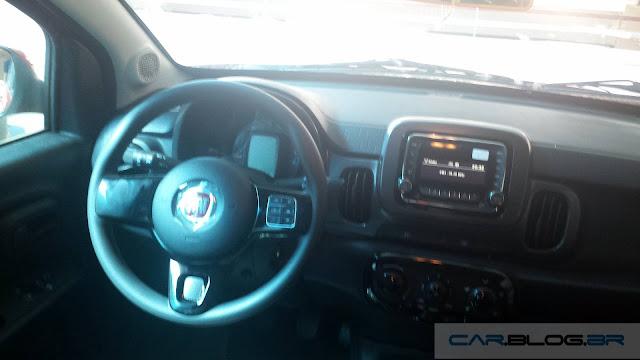Fiat Mobi - painel - interior