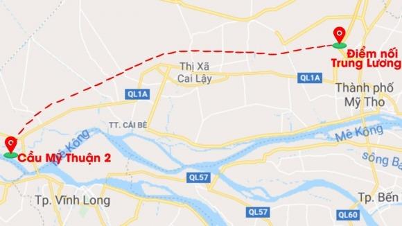Cao tốc Trung Lương – Mỹ Thuận sau 10 năm khởi công 15
