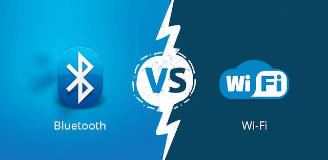 WiFi contre Bluetooth: quelle est la différence