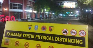 Jalan Tunjungan dan Raya Darmo kota Surabaya ditutup di waktu tertentu
