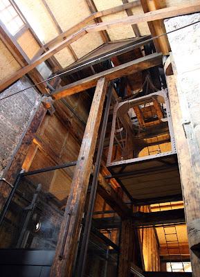 Castillete de madera del Pozo Arnao