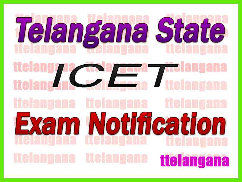 TS ICET Notification Download
