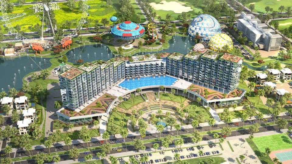 Mặt bằng tổng thể Condotel 15 tầng FLC Sầm Sơn