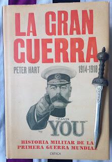 Portada del libro La Gran Guerra, de Peter Hart