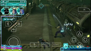 Game Crisis Core: Final Fantasy VII PPSSPP