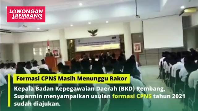 Formasi CPNS Kabupaten Rembang Masih Menunggu Rakor