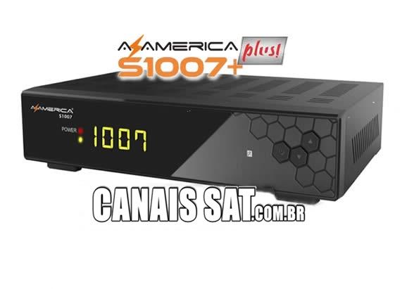 Azamerica S1007 Plus HD Nova Atualização V1.09.21677 - 19/04/2020