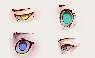 How To Draw And Color Eyes 6