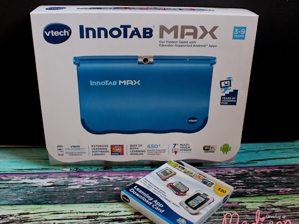 VTech InnoTab Max - Built to Grow With Your Child {Giveaway}