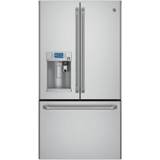 GE Cafe French Door Refrigerator, ref, fridge