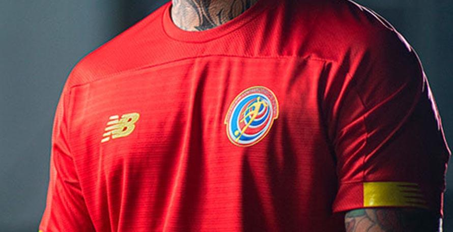 Costa Rica 2019-20 Home & Away Kits Revealed - Footy Headlines