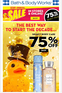 Bath & Body Works | Today's Email - January 1, 2020