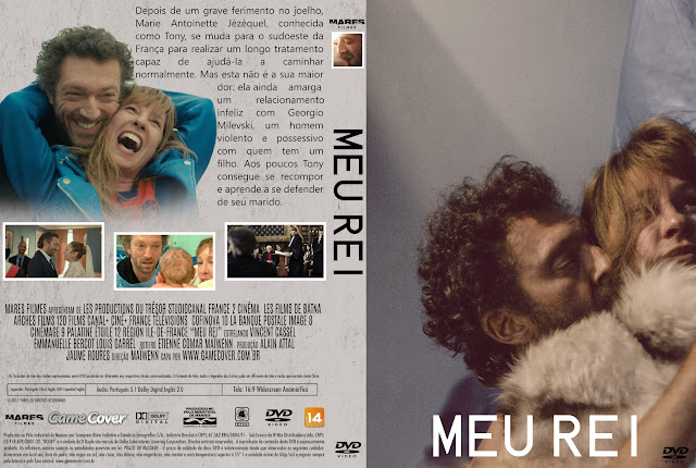 Capa DVD Meu Rei [Exclusiva]