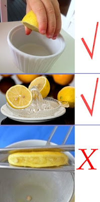 how-to-squeeze lemons