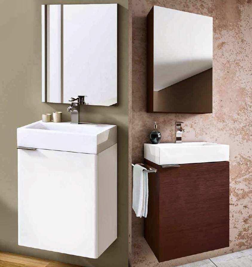 Decoracional muebles ba o xs espacios peque os for Muebles de bano para espacios pequenos