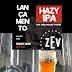Cervejaria ZEV lança Hazy IPA com manga, maracujá e pistache