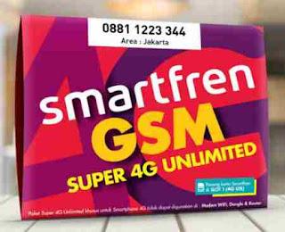 Smartfren Jual Produk Baru Kartu Perdana Super 4G Kuota 5GB