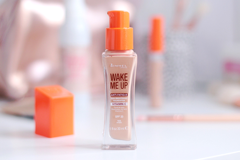 Rimmel London Wake Me Up Foundation Ivory Review