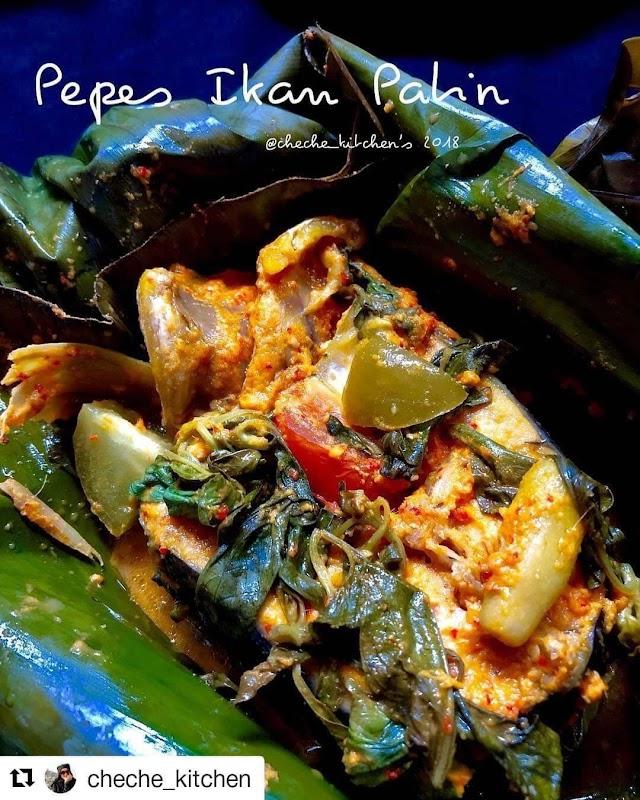 Pepes Ikan Patin - Resep Olahan Ikan