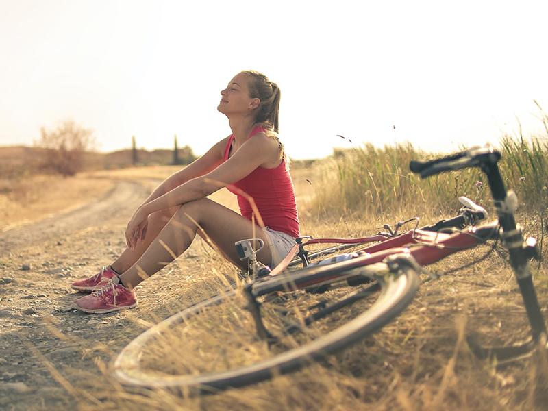 хобби велосипедная прогулка