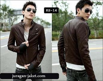jas exclusive Jaket biker kulit sk14