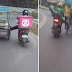 Dalawang Delivery Rider, Tinulungang Makaakyat sa Matarik na Daan ang Isang 'Padyak' o Pedicab Rider!