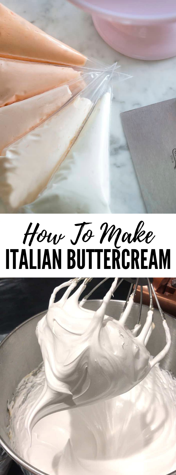 How To Make Italian Buttercream #desserts #frosting