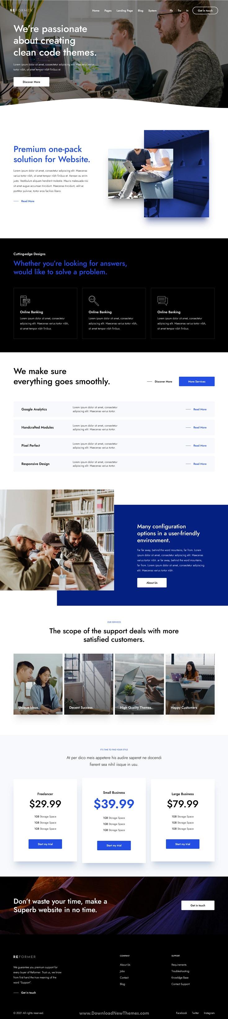Creative Business HubSpot Theme