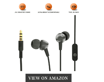 JBL C200SI Best Bass earphone