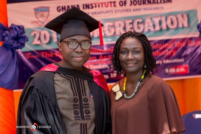 Read Kafui Dey's Inspirational Story As He Graduates With A Masters' Degree After 17 Years!
