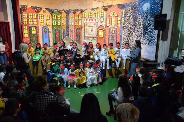 Η Χριστουγεννιάτικη γιορτή του 3ου δημοτικού σχολείου Άργους