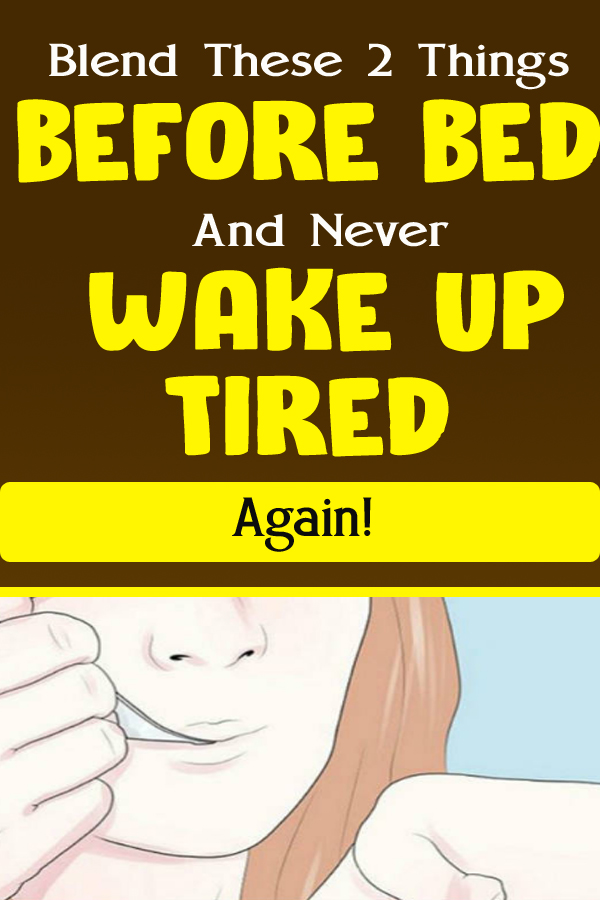 Blend These 2 Things Before Bed And Never Wake Up Tired Again!