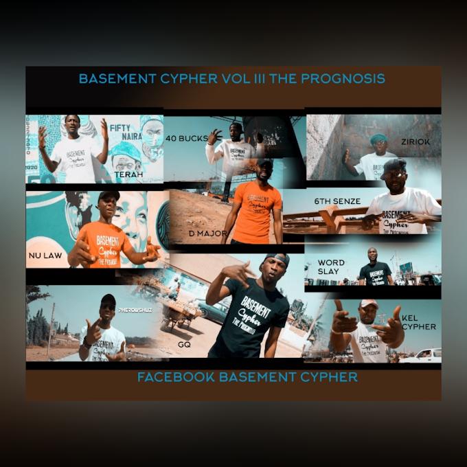"Audio + Video: Basement Cypher Vol III ""The Prognosis"" Pherowshuz, Kel Cypher, Nu Law, Word Slay,GQ, D Major,6th Senze, Tera  Prolixx, 40 Bucks, Ziriok"