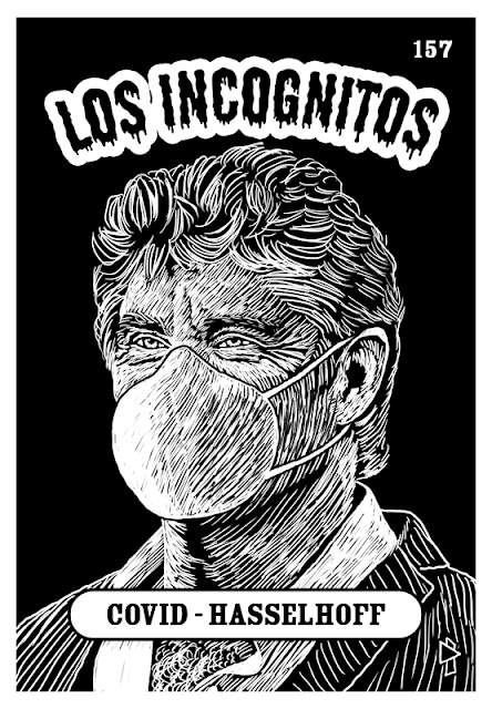 Los Incognitos, David Hasselhoff, Gwen Tomahawk, Coronavirus, covid-19, containment, hooked on a feeling