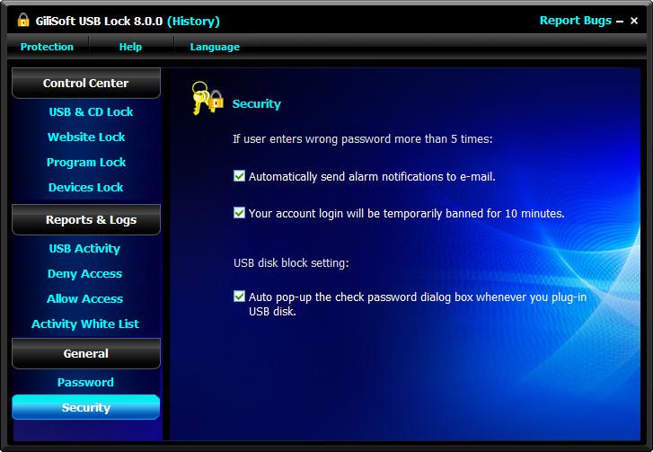GiliSoft USB Lock 10.0 + Crack [ Latest Version ] 2021 Free Download