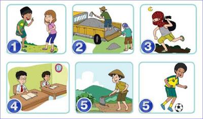 kunci jawaban halaman 20 tema 4 kelas 4