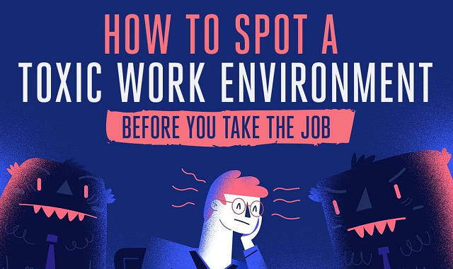 Warning signs that you are entering a toxic work environment