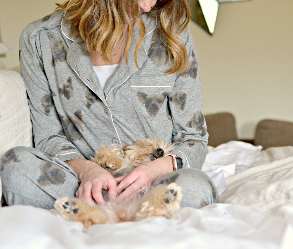 pet pj's with your dogs face