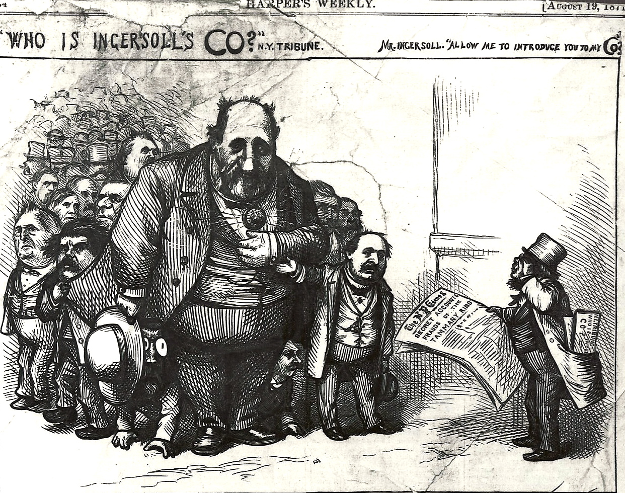 Paired Work Political Corruption Task Tammany Hall