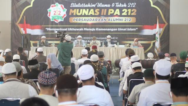 Hasil Munas II, PA 212 Minta BPIP di Bubarkan dan Habib Rizieq di Pulangkan
